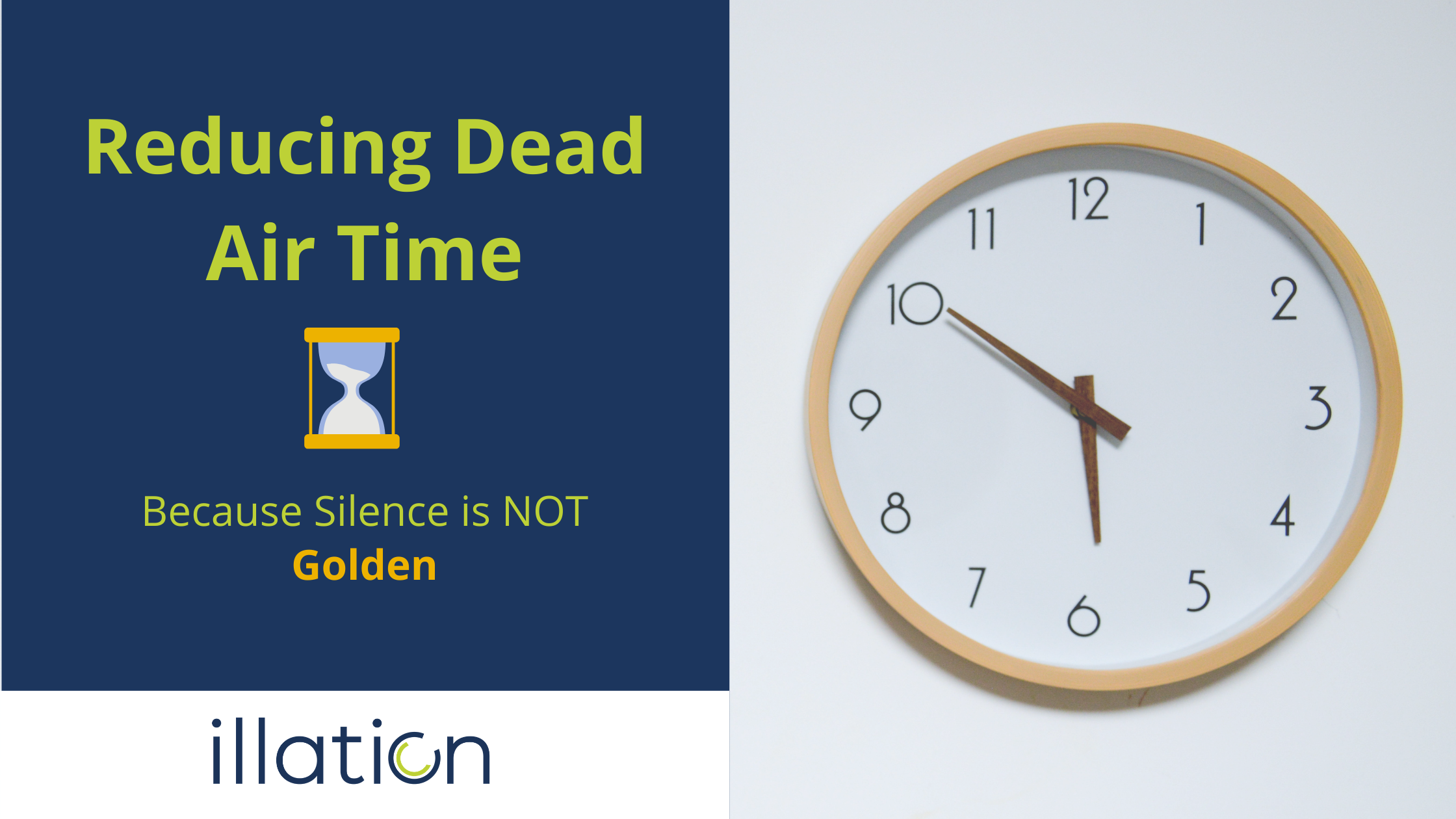 Reducing Dead Air Time in Call Centres: Because Silence Is NOT Golden