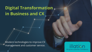 digital transformation in business and CX