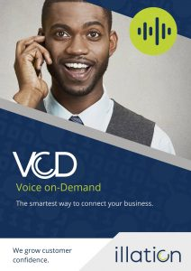Voice on demand back office unified communications